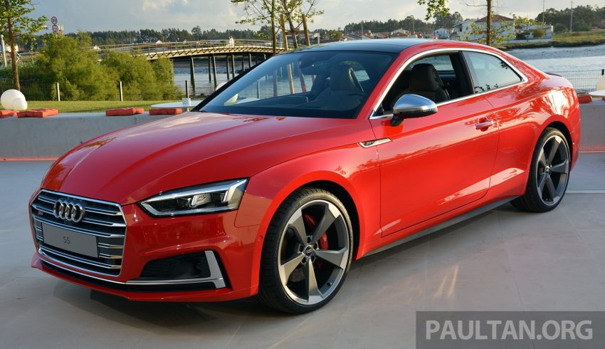 DRIVEN: 2017 Audi A5 and S5 Coupe – enduring class Image #521544