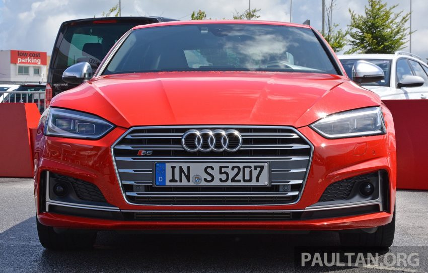 DRIVEN: 2017 Audi A5 and S5 Coupe – enduring class Image #521551