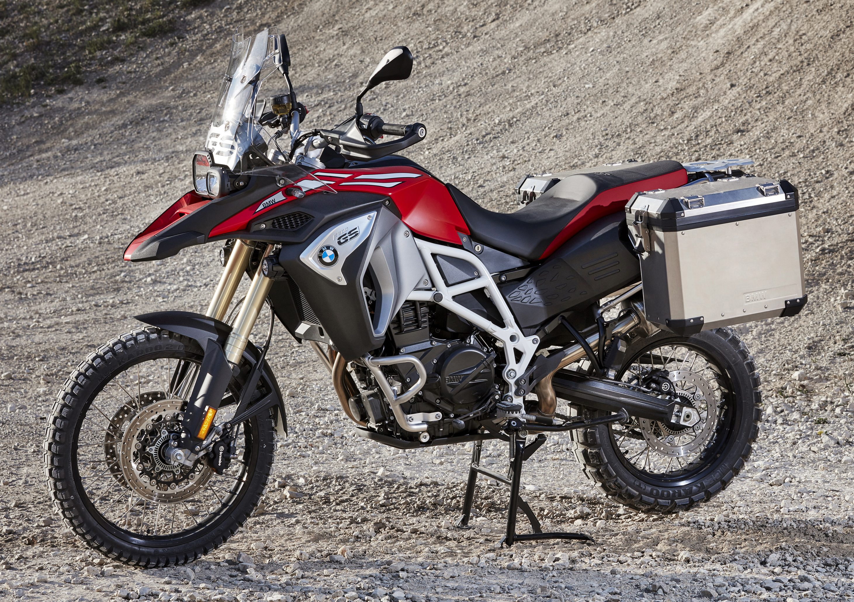 2017 BMW Motorrad F700 GS, F800 GS and F800 GS Adventure ...