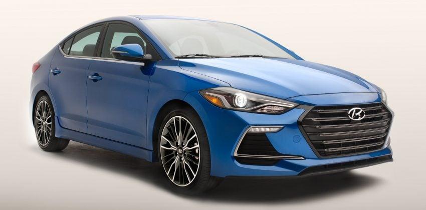 Hyundai Elantra Sport makes its American debut Image #517985