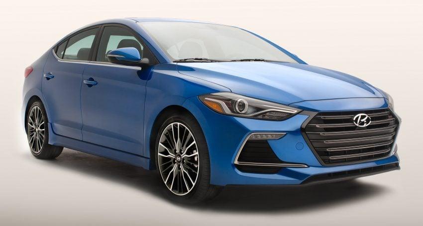 Hyundai Elantra Sport makes its American debut Image #517986