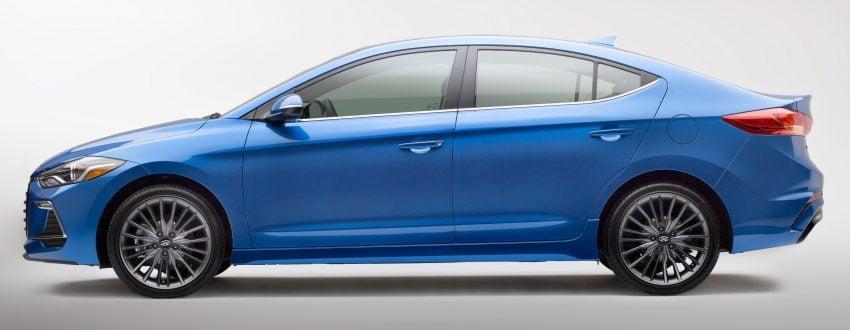 Hyundai Elantra Sport makes its American debut Image #517988