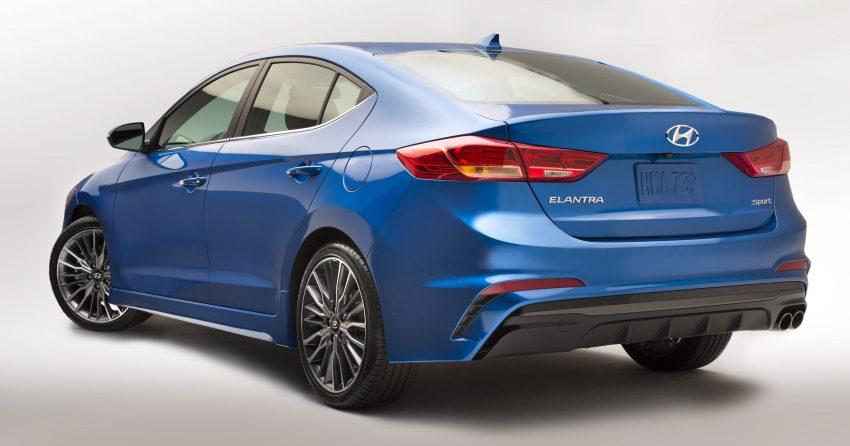 Hyundai Elantra Sport makes its American debut Image #517989
