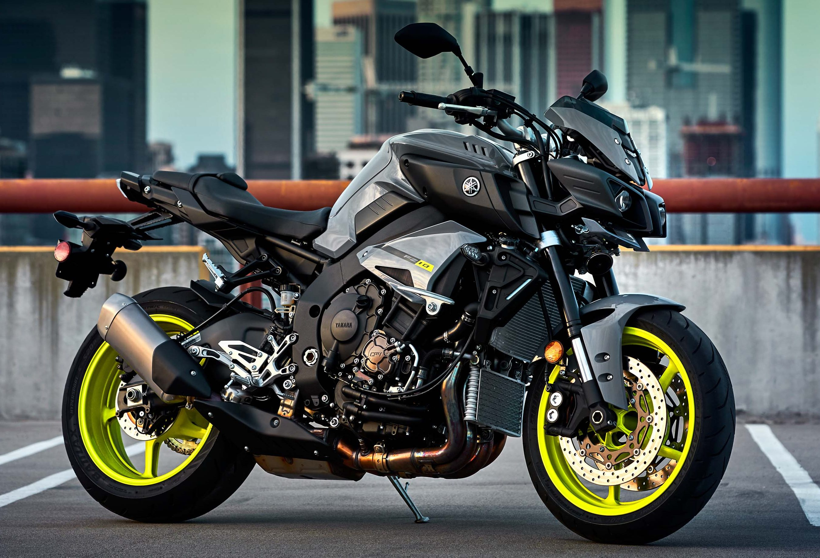 Gallery 2017 yamaha fz 10 mt 10 american launch for Yamaha mt 200