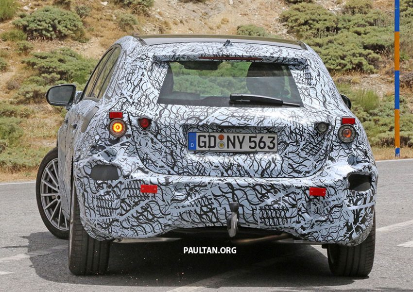 SPYSHOT: Mercedes-Benz A-Class generasi berikutnya dikesan sedang membuat ujian jalan raya Image #526798
