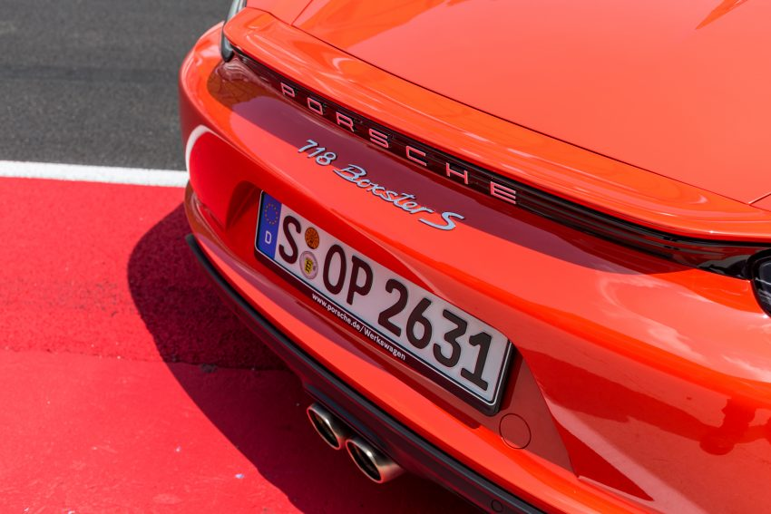 Porsche 718 Boxster previewed in Malaysia at Sepang Image #519005