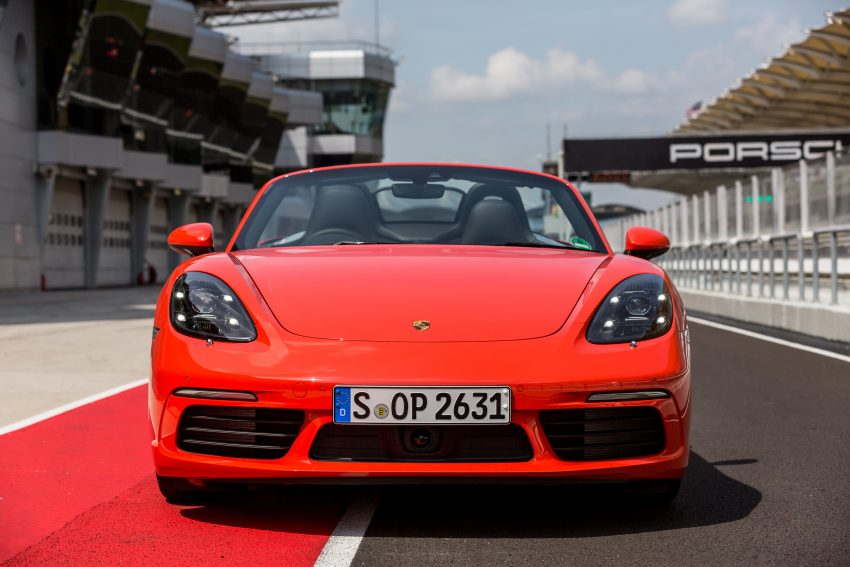 Porsche 718 Boxster previewed in Malaysia at Sepang Image #519010