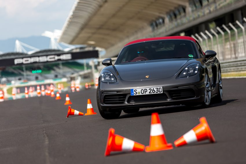 Porsche 718 Boxster previewed in Malaysia at Sepang Image #519013