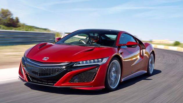 Perfect HONDA NSX VALENCIA RED PEARL