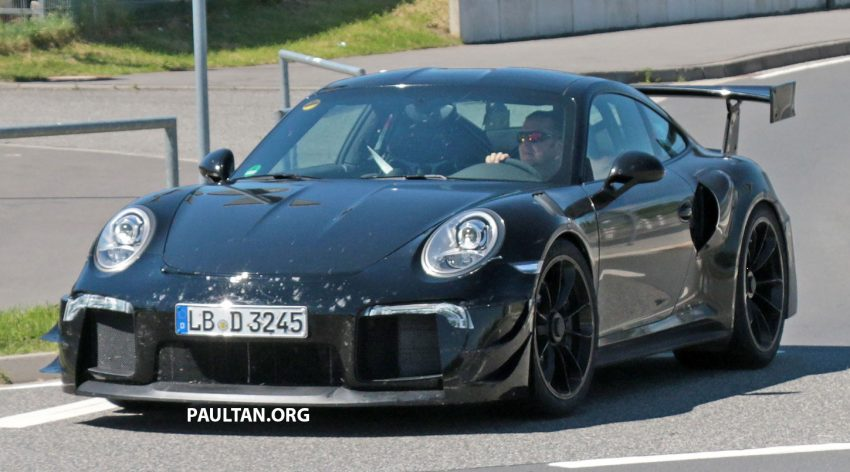 Spied Porsche 991 Gt2 Rs More Vents More Wings Image