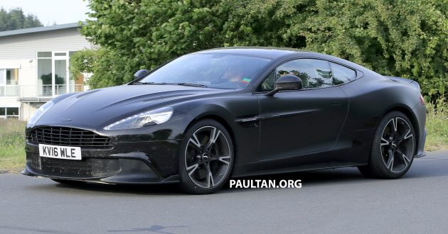 SPYSHOTS: Aston Martin Vanquish S in the making?