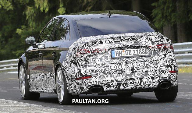 Audi RS3 Sedan spyshots 13