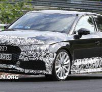 Audi RS3 Sedan spyshots 8
