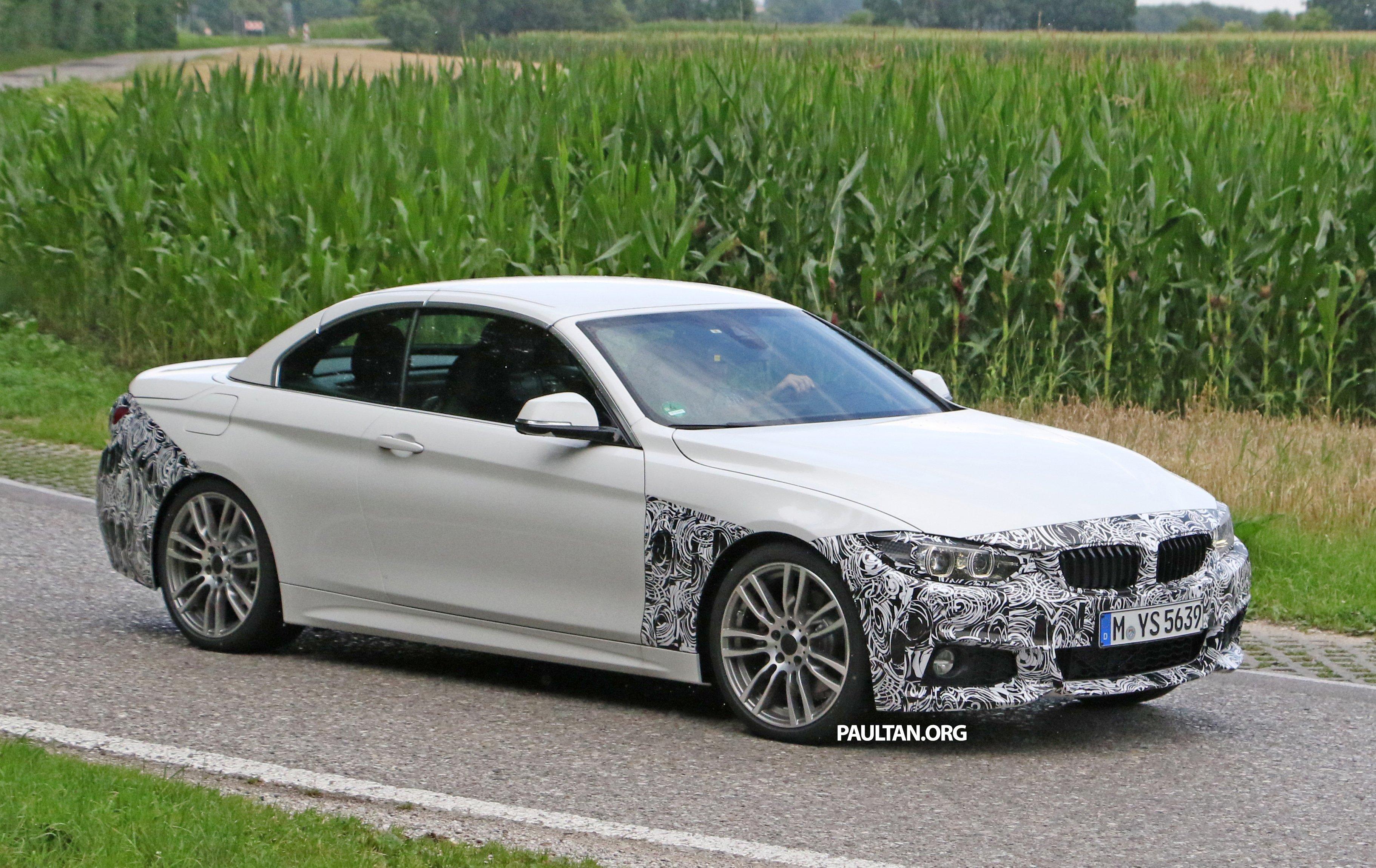 2018 Bmw 3 Series >> SPYSHOTS: F33 BMW 4 Series Convertible LCI spotted Paul Tan - Image 526918