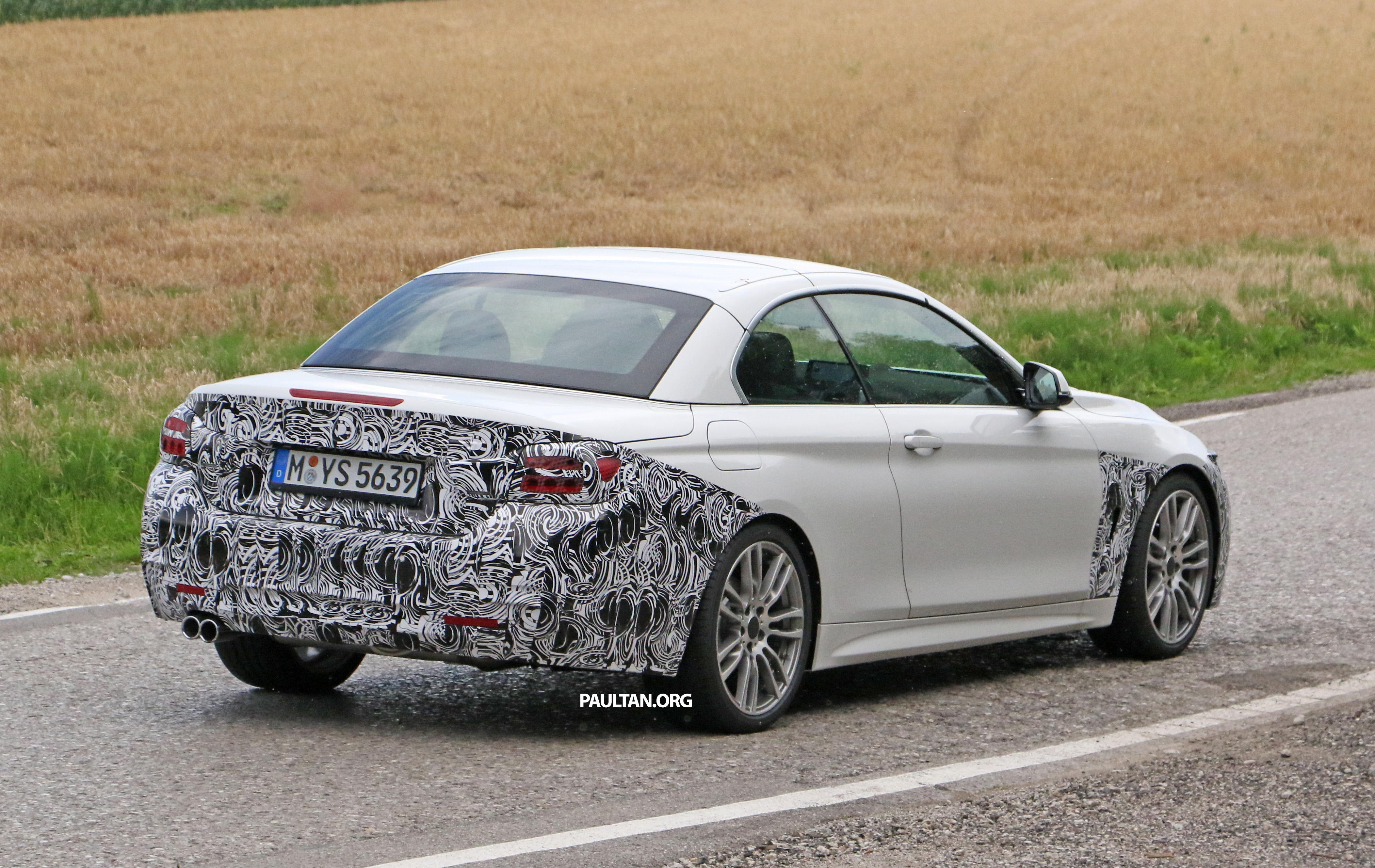 back to story spyshots f33 bmw 4 series convertible lci spotted. Cars Review. Best American Auto & Cars Review