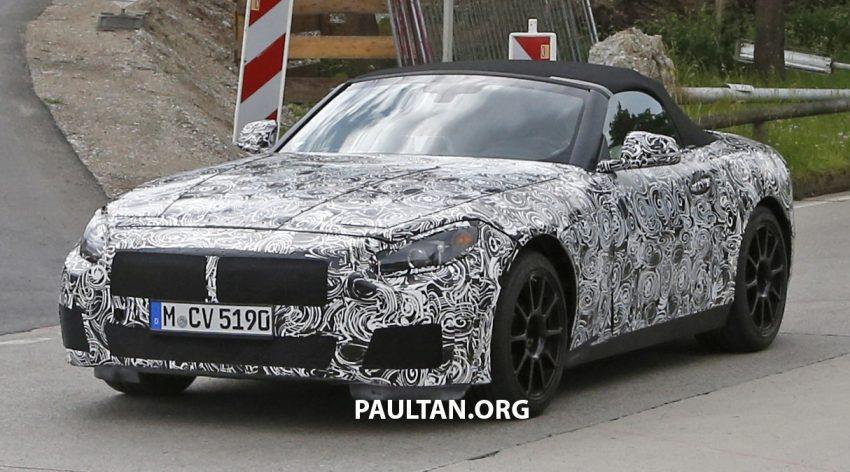 SPYSHOTS: BMW Z5 prototype spotted testing again Image #516467