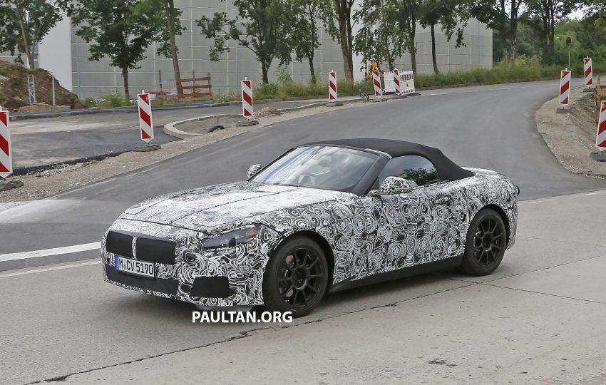 SPYSHOTS: BMW Z5 prototype spotted testing again Image #516468