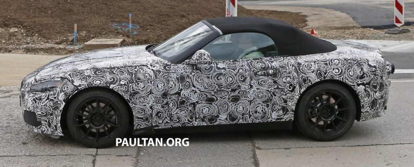 SPYSHOTS: BMW Z5 prototype spotted testing again Image #516471