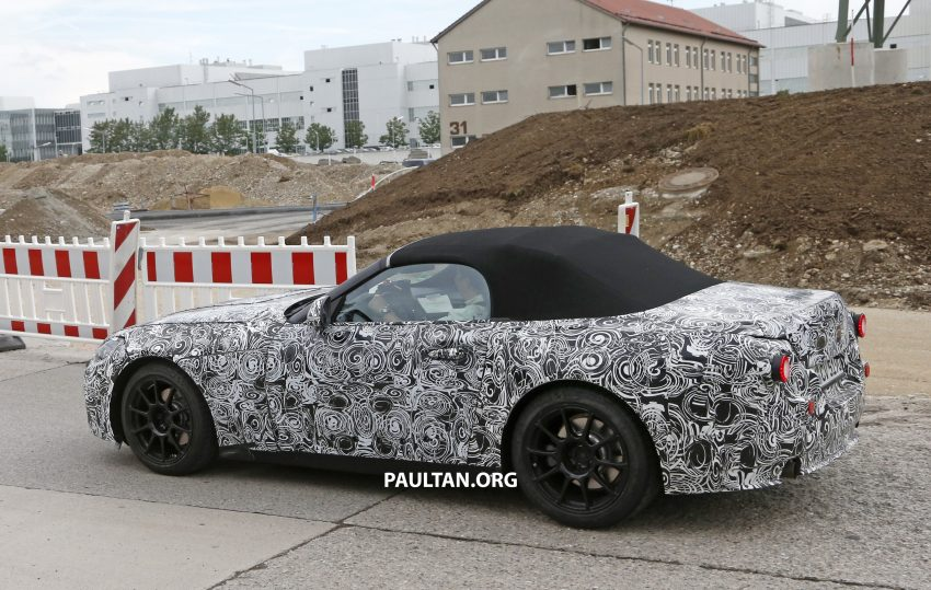 SPYSHOTS: BMW Z5 prototype spotted testing again Image #516472