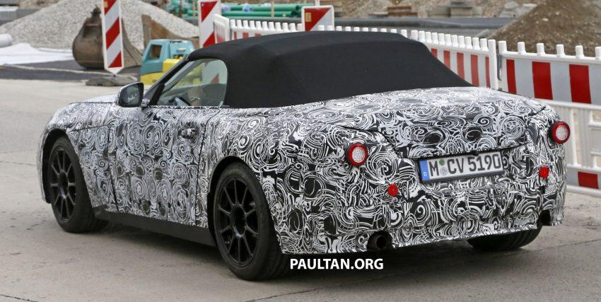 SPYSHOTS: BMW Z5 prototype spotted testing again Image #516474