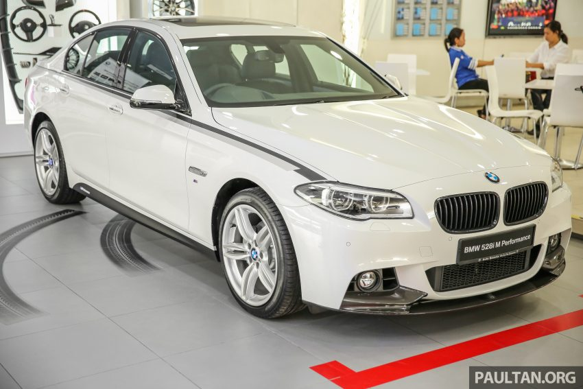 GALLERY: BMW 528i M Performance in the metal Image #527205
