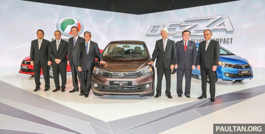 Perodua Bezza dilancarkan, enjin 1.0L VVT-i dan 1.3L Dual VVT-i, harga bermula dari RM37K hingga RM51K Image #523282