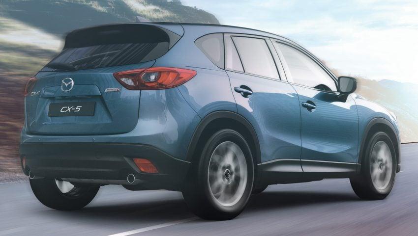 Mazda CX-5 2.2L SkyActiv-D diesel launched – RM162k Image #521678