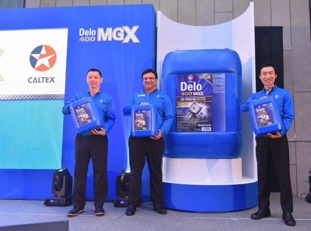 Caltex Delo 400 MGX SAE launch 1