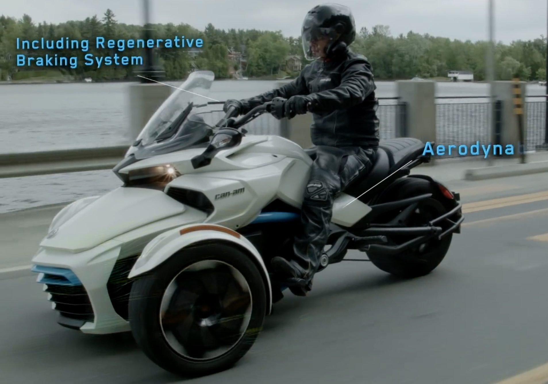 Can Am Spyder >> Can-Am Spyder F3-S E Concept e-trike the next step? Paul Tan - Image 516514