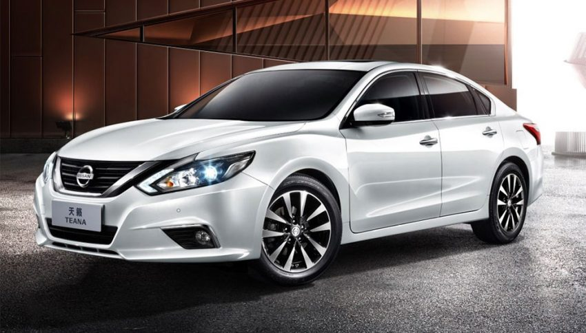 Nissan Teana facelifted for Chinese market; includes Apple CarPlay, LED headlamps Image #523646