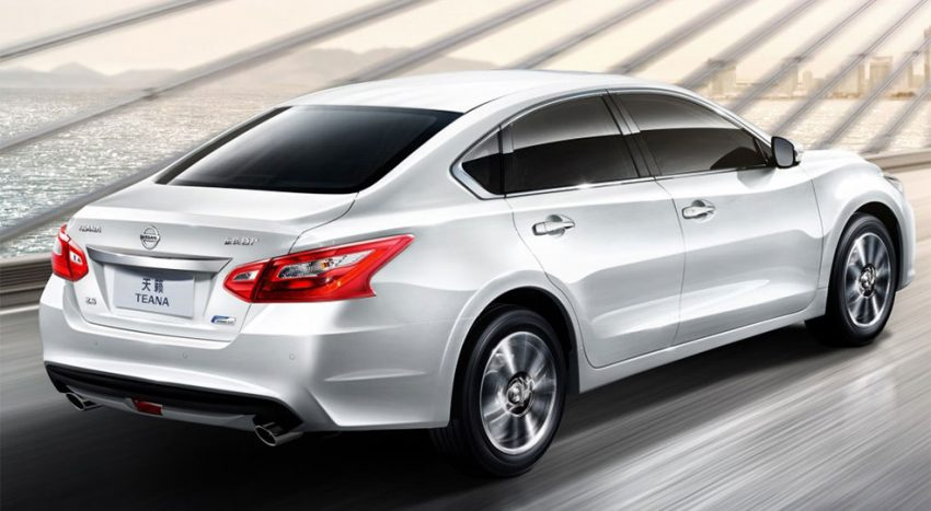 Nissan Teana facelifted for Chinese market; includes Apple CarPlay, LED headlamps Image #523697