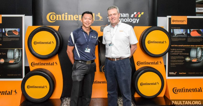 Cameron Wilson talks about Continental Tyre Malaysia's future plans – new tyres in the pipeline Image #525517