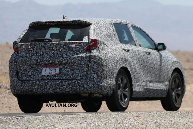 Honda CR-V spyshots 11