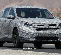 Honda CR-V spyshots 2