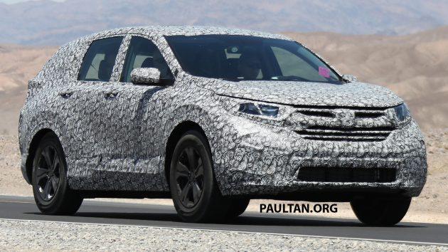 Honda CR-V spyshots 4