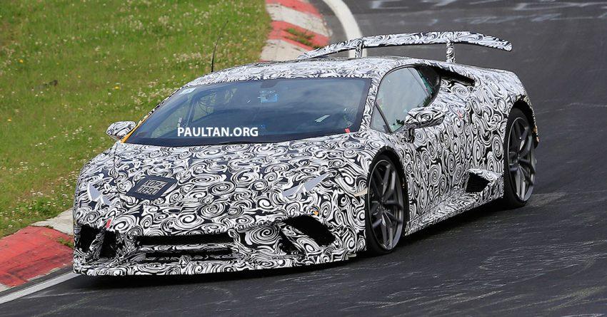 SPIED: Lamborghini Huracan Superleggera testing Image #517621