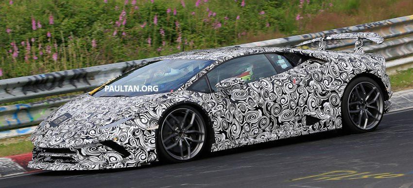 SPIED: Lamborghini Huracan Superleggera testing Image #517622