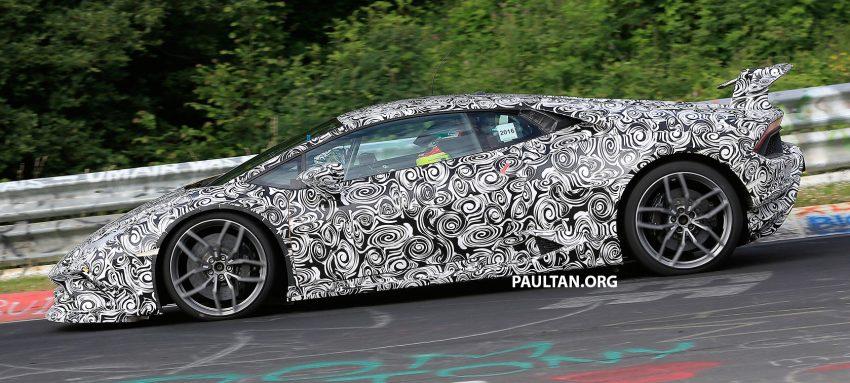 SPIED: Lamborghini Huracan Superleggera testing Image #517623