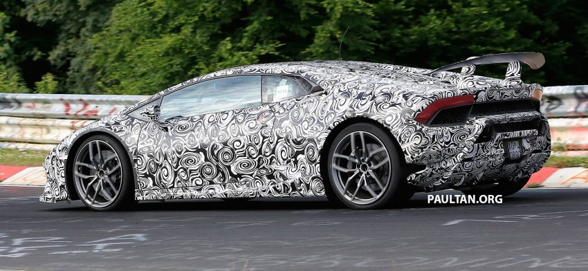 SPIED: Lamborghini Huracan Superleggera testing Image #517624