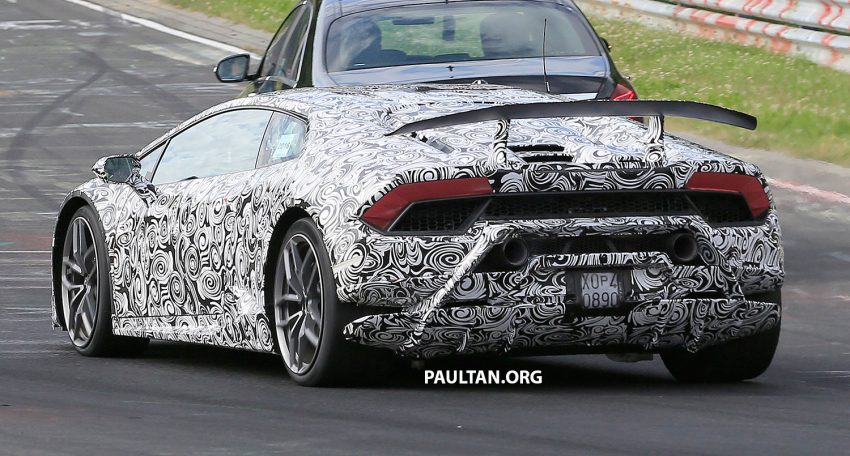 SPIED: Lamborghini Huracan Superleggera testing Image #517625
