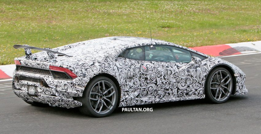 SPIED: Lamborghini Huracan Superleggera testing Image #517636