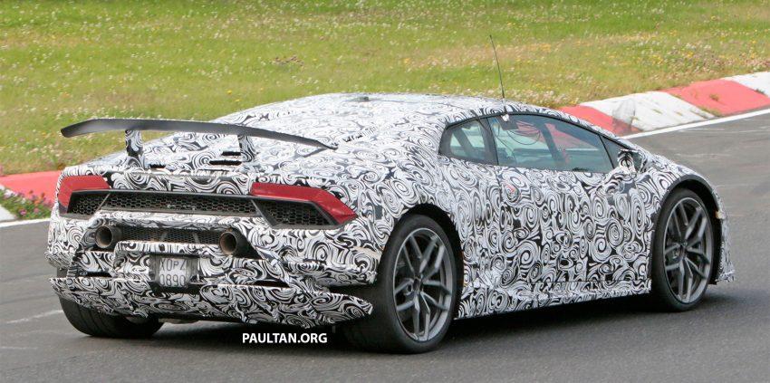 SPIED: Lamborghini Huracan Superleggera testing Image #517637