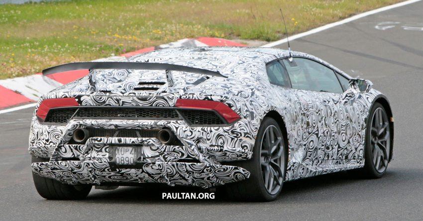 SPIED: Lamborghini Huracan Superleggera testing Image #517638