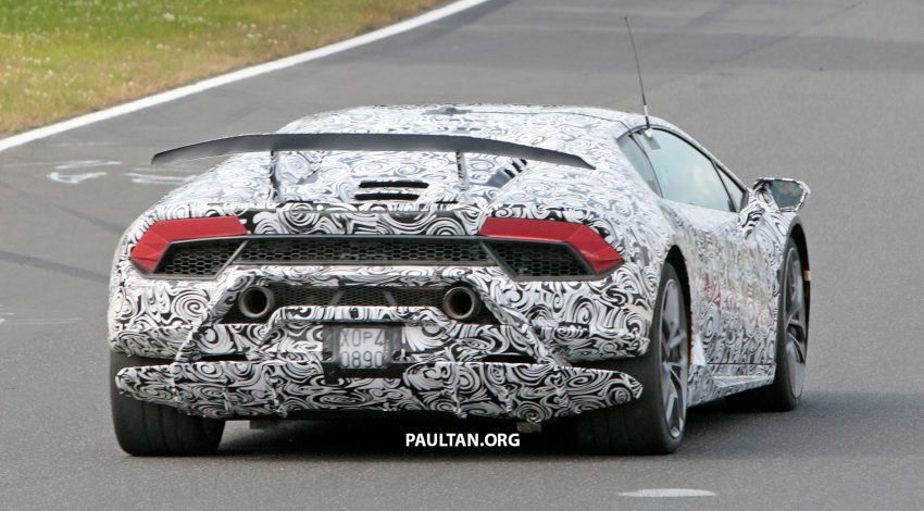 SPIED: Lamborghini Huracan Superleggera testing Image #517639