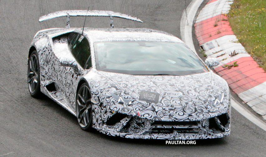 SPIED: Lamborghini Huracan Superleggera testing Image #517629