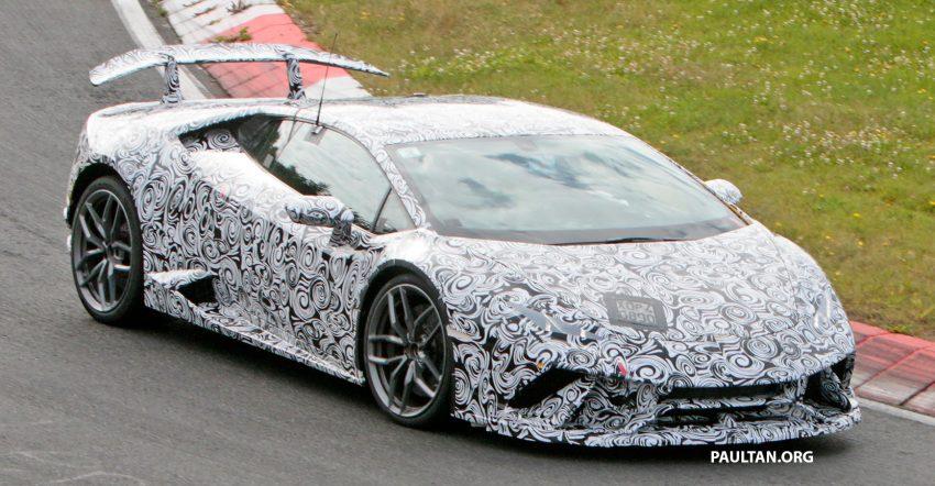 SPIED: Lamborghini Huracan Superleggera testing Image #517630