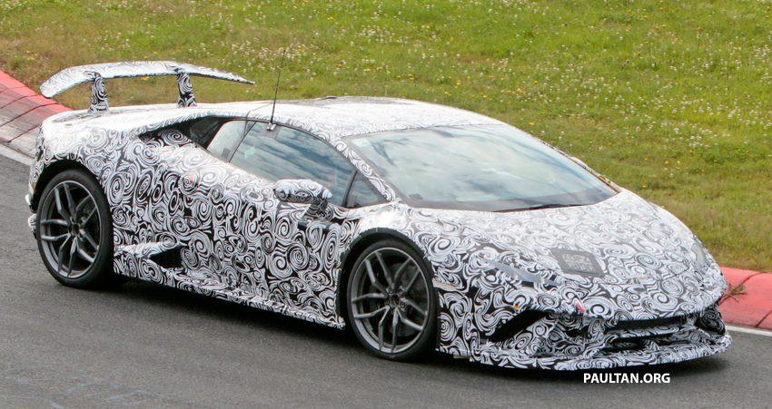SPIED: Lamborghini Huracan Superleggera testing Image #517631