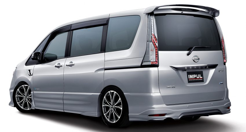 Nissan Serena S-Hybrid Tuned by Impul launched in Malaysia – two variants, RM146k and RM156k Image #514907