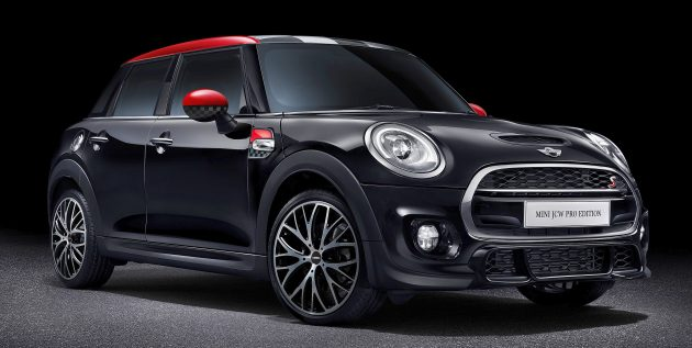 Mini John Cooper Works Pro Edition Launched Limited Run Of 20