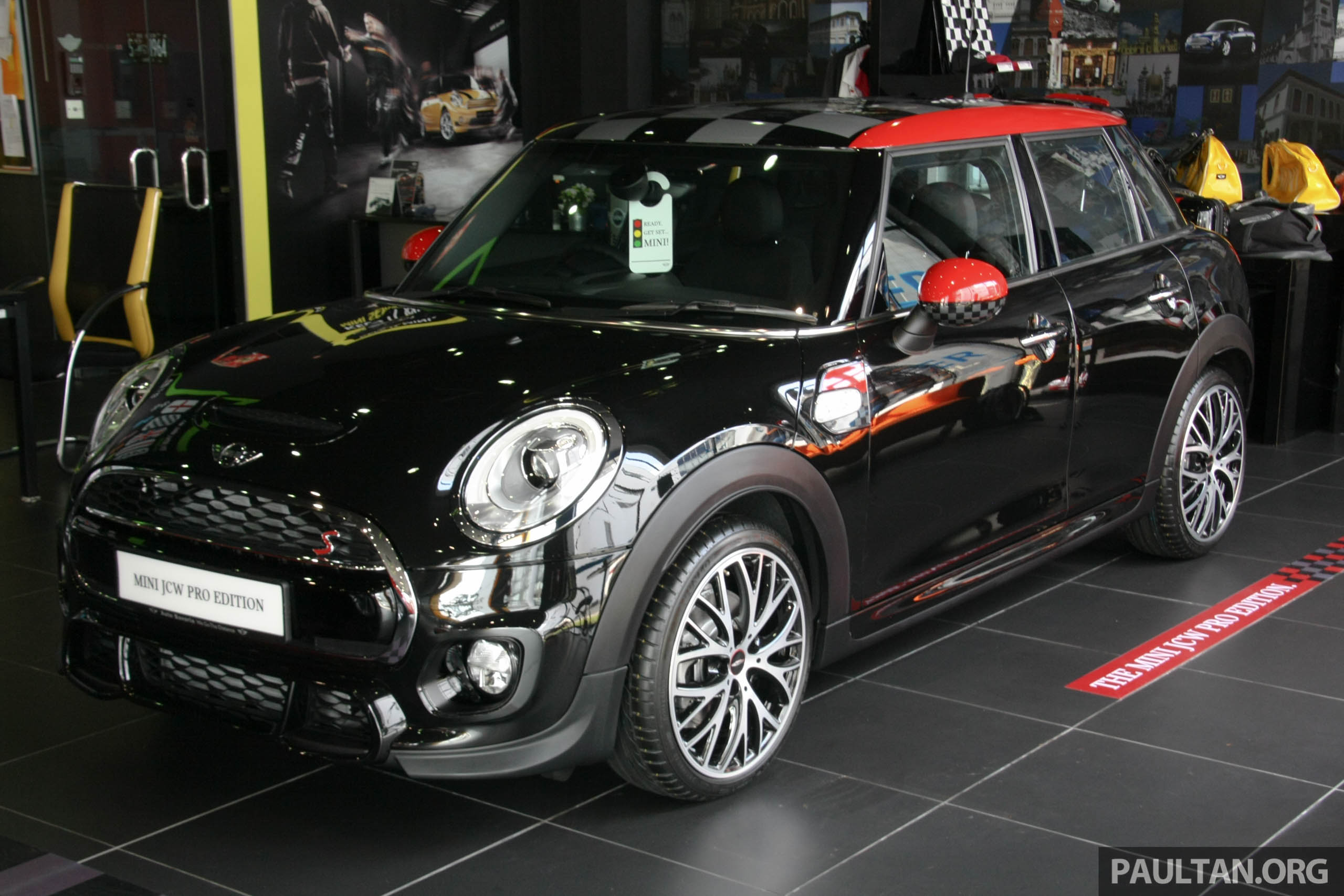 gallery mini jcw pro edition at auto bavaria. Black Bedroom Furniture Sets. Home Design Ideas